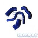 Ansaugsystem Silikonschlauch-Kit in Blau