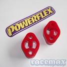 Powerflex verstärkte PU Auspuffgummis - Abbildung zeigt 2 Stück