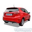 Ford Fiesta MK8 - 1,0l EcoBoost - Bastuck - 2,5Zoll Edelstahl Sport-Endschalldämpfer - mit ECE