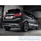 Ford Fiesta MK8 - ST200 - Milltek - 2,75Zoll Edelstahl Sport-Auspuffanlage - EURO - mit ECE/EG
