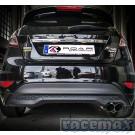 Ford Fiesta MK7 - 1,0l EcoBoost - Don Silencioso - Edelstahl-Sport-Endschalldämpfer