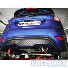 "Ford Fiesta MK7 - ST180 + ST200 - Don Silencioso - 2,5"" / 63,5mm Edelstahl-Auspuffanlage ab Kat"