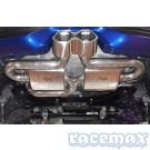 """Ford Focus MK3 - ST250 - BULL-X """"Y-Style"""" - 3 Zoll / 76mm Auspuffanlage ab Kat"""