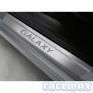 Ford Galaxy MK2 - Einstiegszierleisten vorne mit Galaxy-Logo