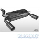 Ford Kuga MK1 - Fox - 2,5 Zoll Edelstahl Sport-Auspuffanlage ab DPF - 2,0l TDCi Diesel - mit ABE