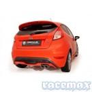 Ford Fiesta MK7 - ST180 + ST200 - Remus - 2,5Zoll /63,5mm Edelstahl Sport-Auspuffanlage ab Kat - mit EG