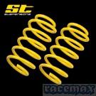 Ford Focus MK2 - Schrägheck - ST Suspensions - ST Tieferlegungsfedern 30 mm - Typ: DA3 / DB3