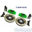 Tarox Big Brake - Beispielabbildung Ausführung Grün Eloxiert